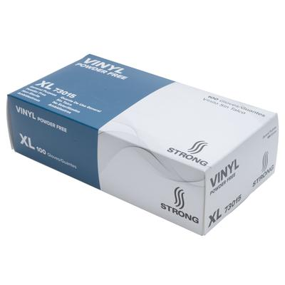 STRONG Manufacturers 73015 General Purpose Vinyl Gloves - Powder Free, X-Large