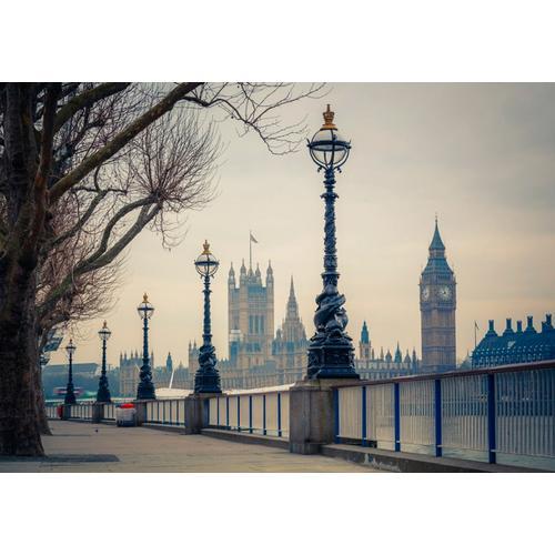 Papermoon Fototapete Big Ben grau Fototapeten Tapeten Bauen Renovieren