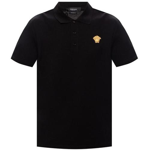 Versace Medusa Motiv Poloshirt