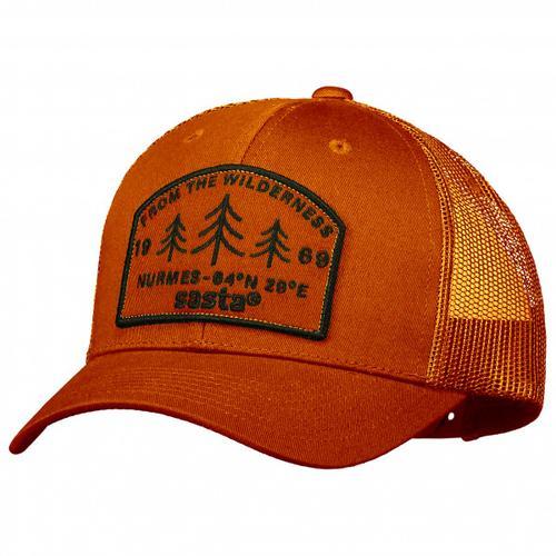 Sasta - Wilderness Cap - Cap Gr One Size rot;schwarz/oliv