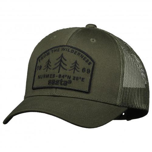 Sasta - Wilderness Cap - Cap Gr One Size schwarz/oliv