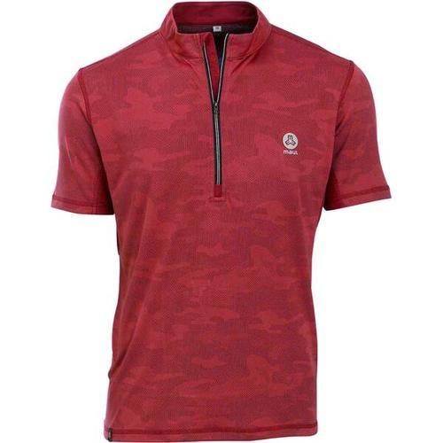 MAUL Herren Fichtelberg-1/2 RV-Shirt, Größe 52 in rot