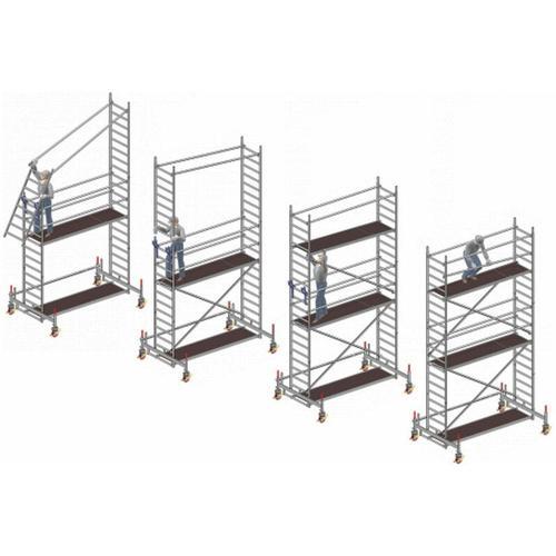 Nachrüstset P2 für Uni Breit für 2107 - Layher