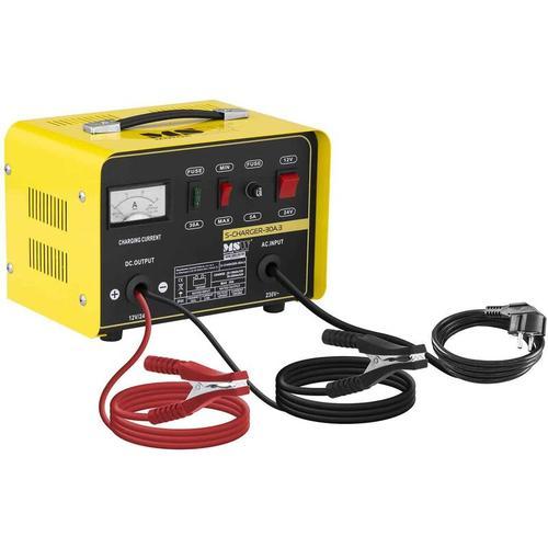 MSW - Autobatterie Ladegerät Kfz Pkw Ladegerät Batterie 12 24 V 15 20 A Auto