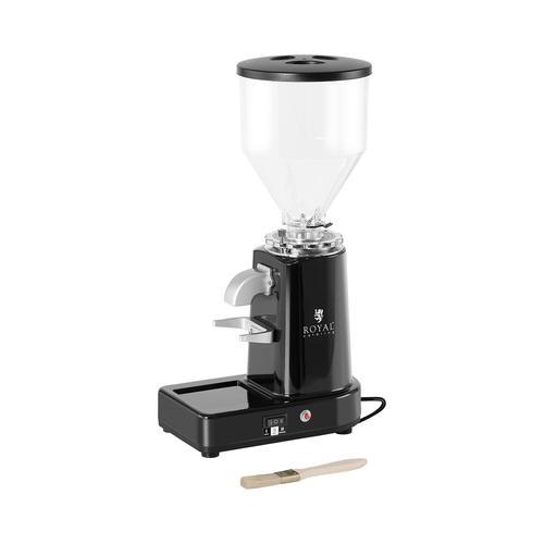Royal Catering Kaffeemühle - 200 - 1000 ml - Kunststoff - schwarz RC-CGM19