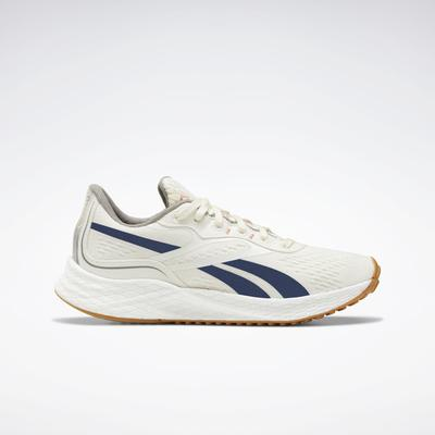 Reebok Women's Floatride Energy Grow Running Shoes in Classic White/Brave Blue/Boulder Grey Size 7.5 - Running Shoes