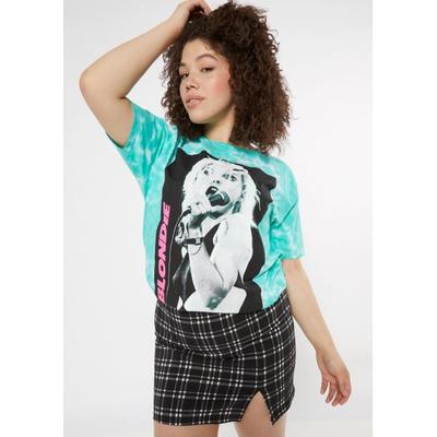 Rue21 Womens Plus Size Mint Tie Dye Blondie Graphic Tee - Size 2X