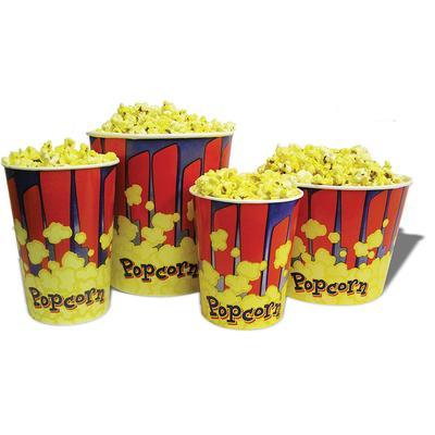 Winco 41470 170 oz Popcorn Tub - 7 1/2