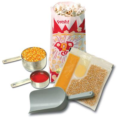 Winco 45004 Popcorn Starter Kit for 4 oz Poppers