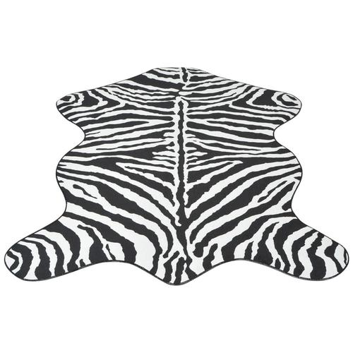 vidaXL Teppich Fellimitat Zebra 150 x 220 cm