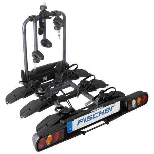 FISCHER Kupplungsfahrradträger schwarz Fahrradträger Autozubehör Reifen