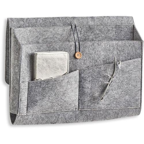 Zeller Present Aufbewahrungstasche Couch-Organizer, Filz, grau, (1 St.) grau Aufbewahrung Ordnung SOFORT LIEFERBARE Wohnaccessoires