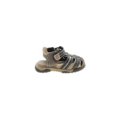 Koala Kids Sandals: Brown Solid Shoes - Size 2