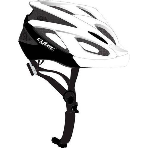 CYTEC Fahrrad-Helm Genesista 2.8, Größe 52 in WEIß/MATT