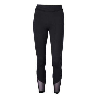 Soffe 1208V Women's Mesh Legging in Black size Large | Polyester/Spandex Blend