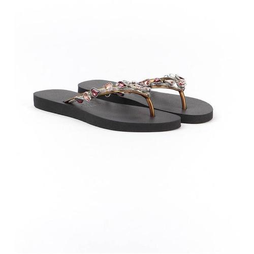 Uzurii Jewel Flip Flops