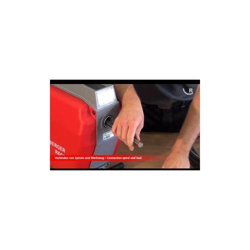 R600 Rohrreinigungsmaschine / Rohrreiniger Grundmaschine 16/22 mm - Rothenberger