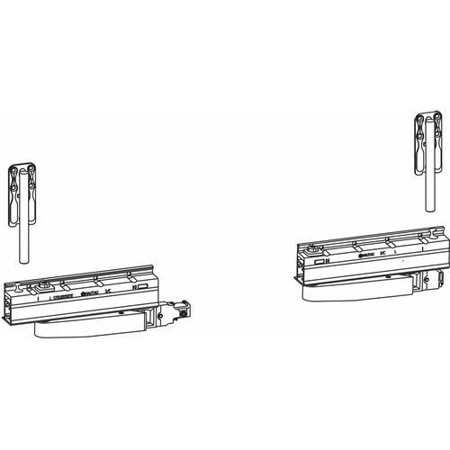 HAUTAU ATRIUM HKS 160 S ohne Zentralverschluss,rechts, 160kg, 1 Grundkarton | Zubehör Beschläge für