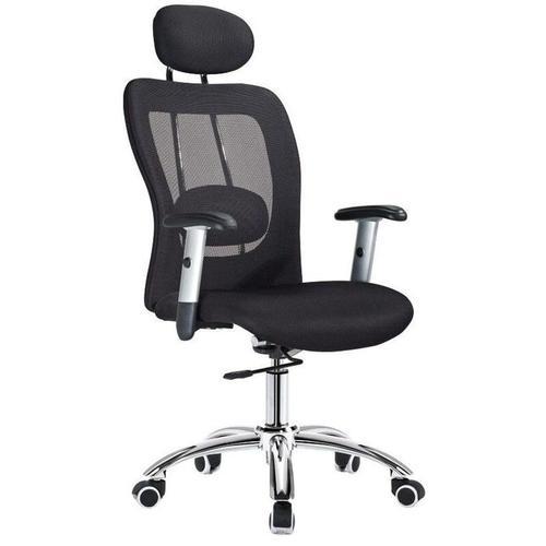 Ergonomischer Bürostuhl 'Ergo' - Schwarz - Rückenfreundlich & günstig