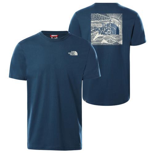 The North Face - S/S Redbox Celebration Tee - T-Shirt Gr S blau