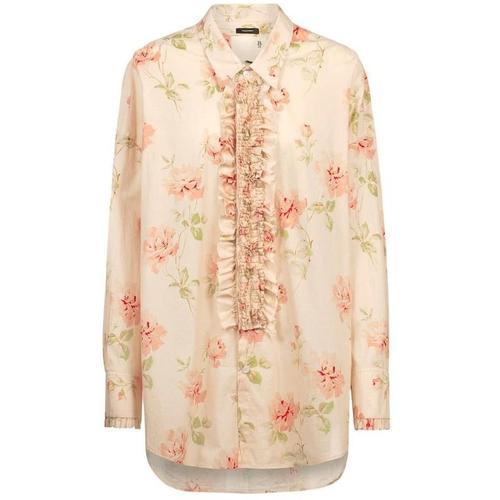 R13 Bluse mit Blumenprint