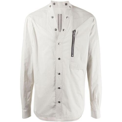 Rick Owens Hemd mit Druckknöpfen