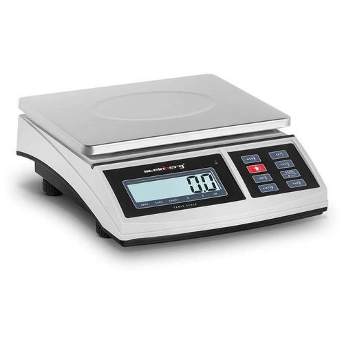 Steinberg - Tischwaage Feinwaage Präzisionswaage Küchenwaage Digital Akku LCD 15 kg / 0,5 g
