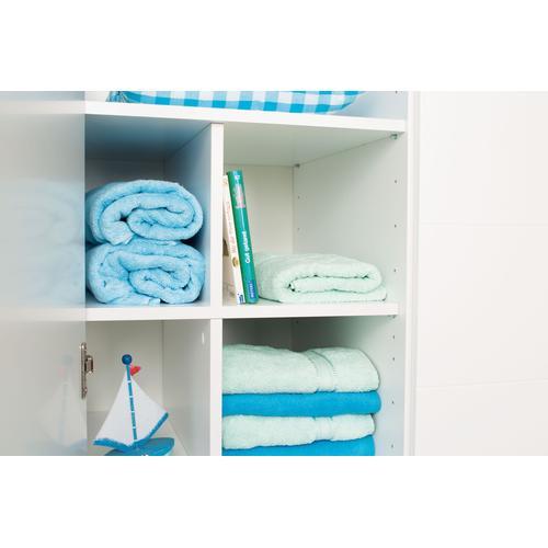 PAIDI Inneneinteilung Wäschefach-Unterteilung Lotte & Fynn, Steiff by Paidi, geeignet für 2-türigen Kleiderschrank Fynn weiß Zubehör Kleiderschränke Möbel