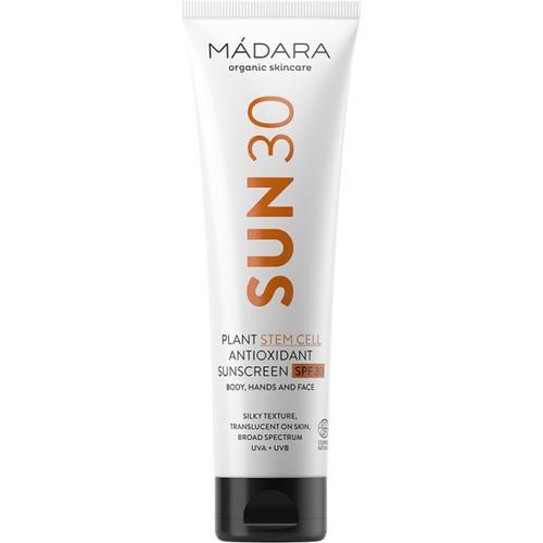 MÁDARA Organic Skincare Plant Stem Cell Antioxidant Körper-Sonnenschutz LSF30 100ml Sonnencreme