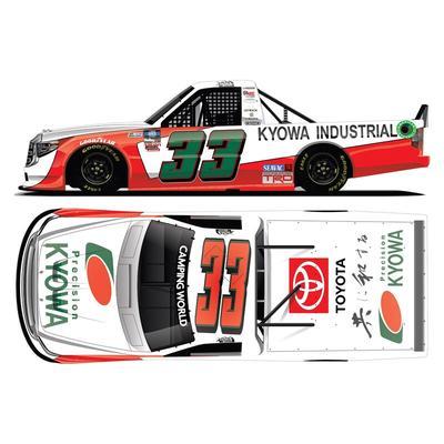 Akinori Ogata Action Racing 2021 #33 Kyowa Industrial NASCAR Camping World Truck Series 1:64 Regular Paint Die-Cast Toyota Tundra