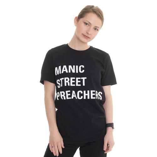 Manic Street Preachers - Block Logo - - T-Shirts