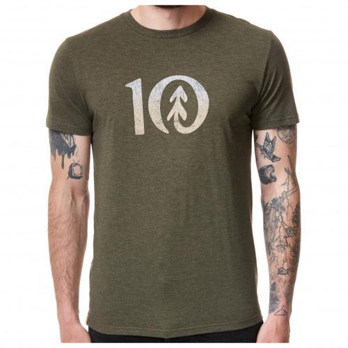 tentree - Gradient Ten T-Shirt Gr L oliv