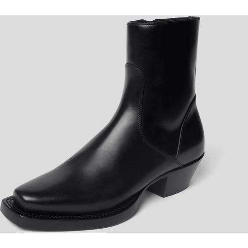 Vetements Boots mit Brand-Detail