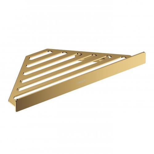 Hansgrohe AddStoris Eckduschablage B: 305 H: 26 T: 148 mm gold 41741990