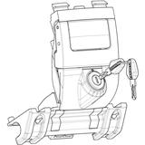 SHAD SPARE PART MECHANISMUS 35-S...