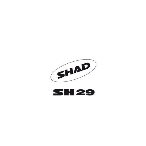 SHAD SH29 SHAD AUFKLEBER 2011