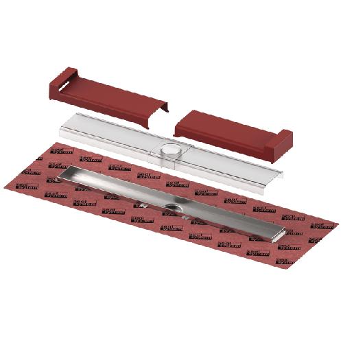 TECEdrainline-Evo Duschrinne, 900 mm befestigte Seal System Dichtmanschette, 600902 600902