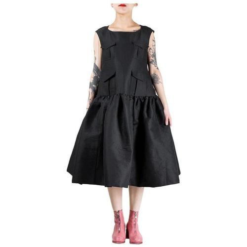 Rundholz Pocket Vest Dress