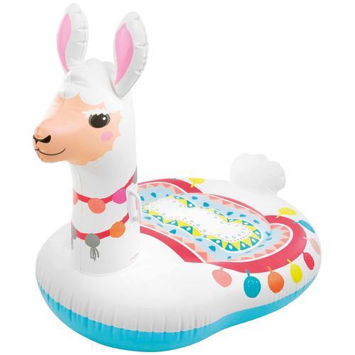 Intex Badespielzeug RideOn Cute Lama, BxLxH: 94x135x112 cm bunt Wasserspielzeug Outdoor-Spielzeug