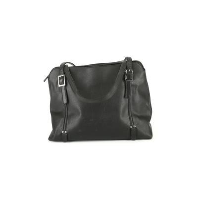 Unbranded - Shoulder Bag: Black Solid Bags