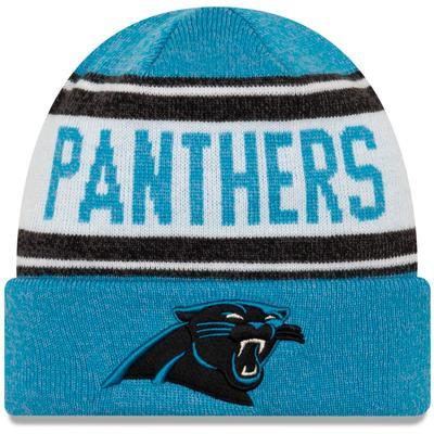 Preschool New Era Blue/White Carolina Panthers Stated Cuffed Knit Hat