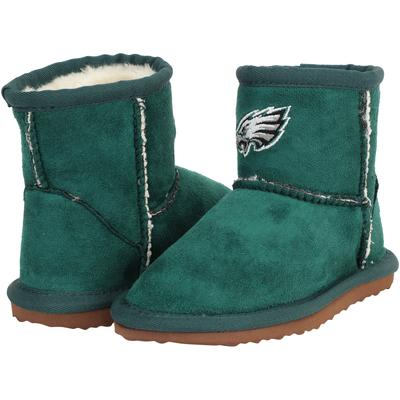 Girls Toddler Philadelphia Eagles Cuce Midnight Green Rookie 2 Boots