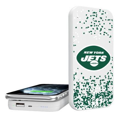 New York Jets Confetti Design Wireless 5000mAh Powerbank