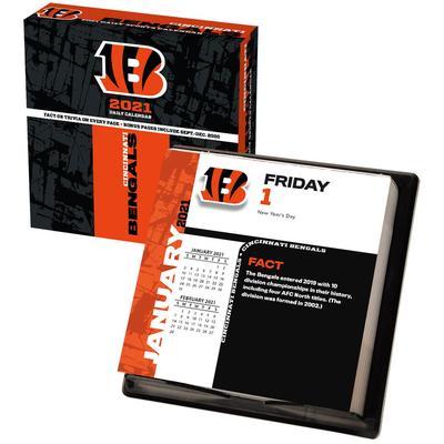Cincinnati Bengals 2021 Box Calendar