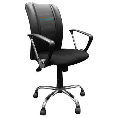 Miami Dolphins Curve Task Office Chair