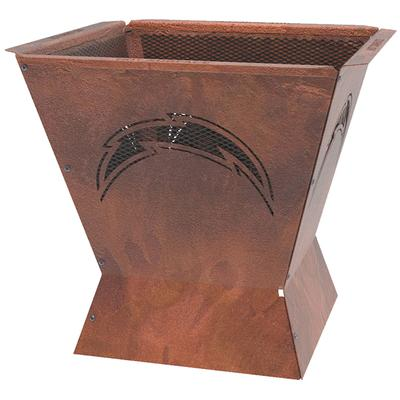 Los Angeles Chargers 29.5'' x 26'' Badlands Fire Pit