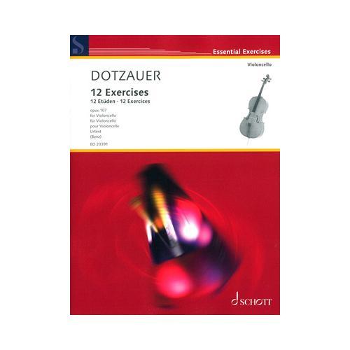 Schott Dotzauer 12 Exercises