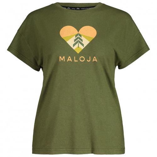 Maloja - Women's KlappertopfM. - T-Shirt Gr S oliv