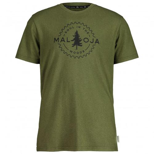 Maloja - WiesenknopfM. - T-Shirt Gr L oliv