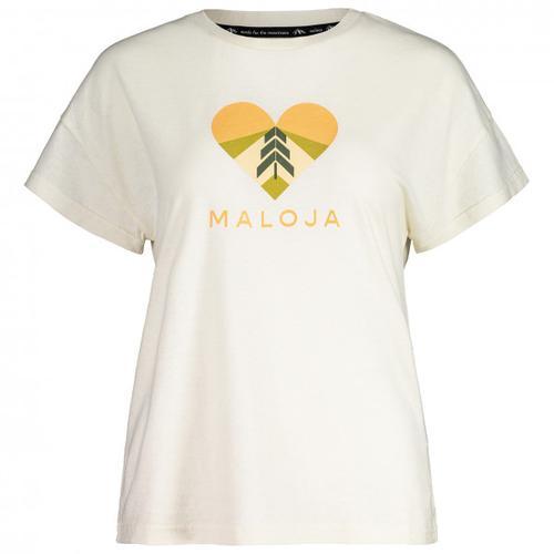 Maloja - Women's KlappertopfM. - T-Shirt Gr M weiß